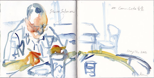 Sketching Steve Solomon