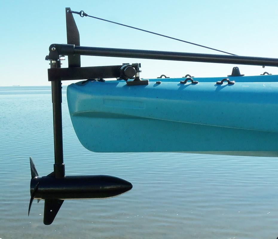 Fishing Kayaks With Trolling Motor Kayak Trolling Motor Rear
