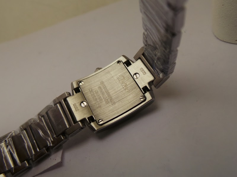 Cartier Tank Francaise Case Back