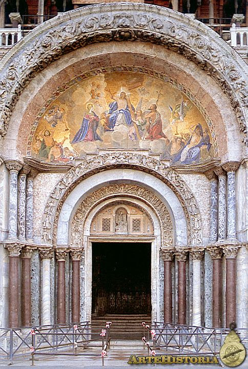 Basílica de San Marcos (Venecia). Portada principal