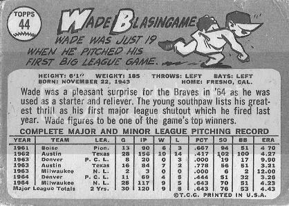 #44 Wade Blasingame (back)