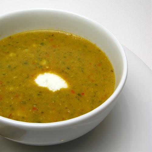 Corn & Pepper Soup