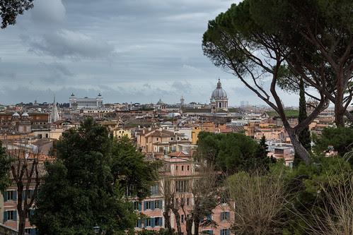 Jardins de la villa Medicis - Rome (Mars 2013)