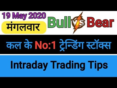 Best intraday trading stock For 19 May 2020   intraday trading Strategie...