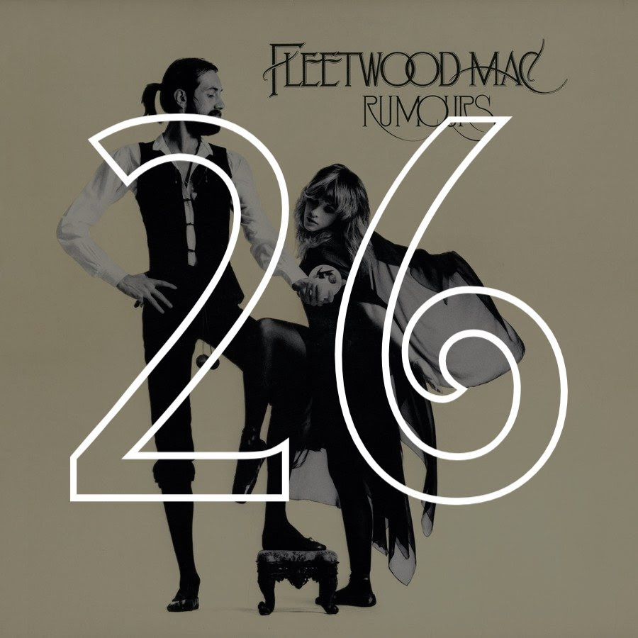 26 Fleetwood Mac Rumours 1977 The Rs 500
