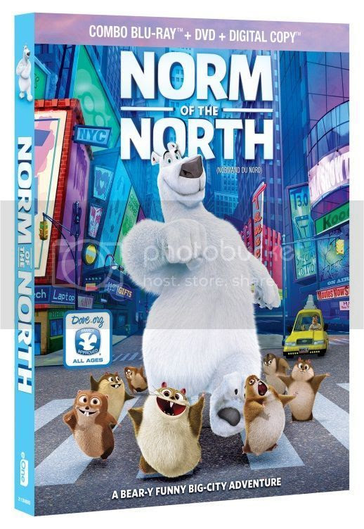 Norm of the North Bluray