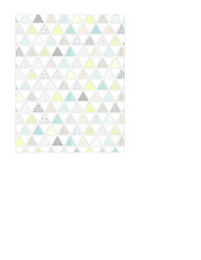 1b pattern-filled triangles SMALL SCALE - A2 card size PORTRAIT or VERICAL