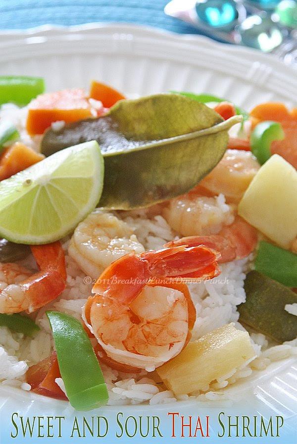 Sweet and Sour Thai Shrimp