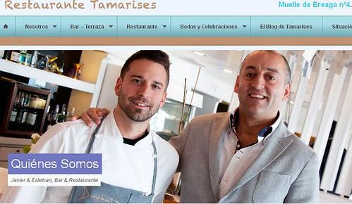 Equipo del Restaurante Tamarises