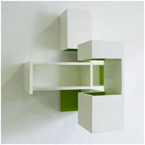 Lime-20/70.80.60, 70 x 80 x 60 cm., high gloss paint on MDF