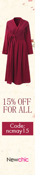 15% Off Plus Size Women Clothes -  Coupon code:ncmay15