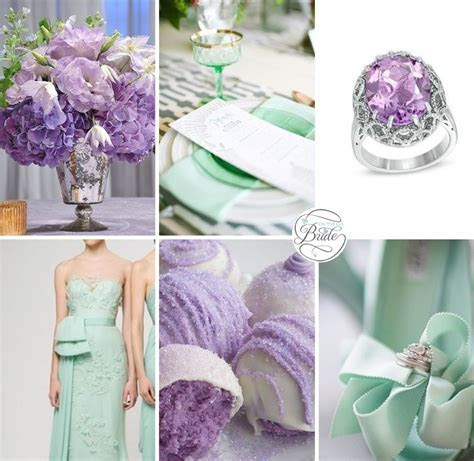 Lavender and Mint Wedding Inspiration   Inspiration Boards