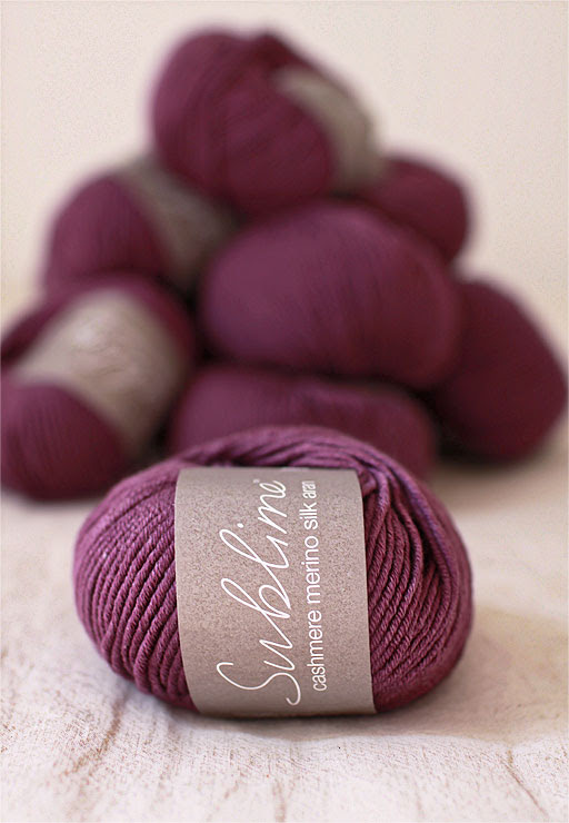 Purple Sublime Yarn