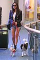 olivia munn and her pups arrive in vancouver for six filming 03