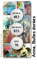 Anne, Bulles dorées. Get yours at bighugelabs.com/flickr