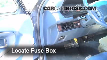 Interior Fuse Box Location: 1991-1996 Buick Park Avenue ...