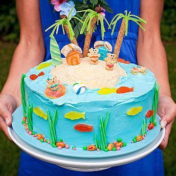 Luau theme Birthday Cake   Parents