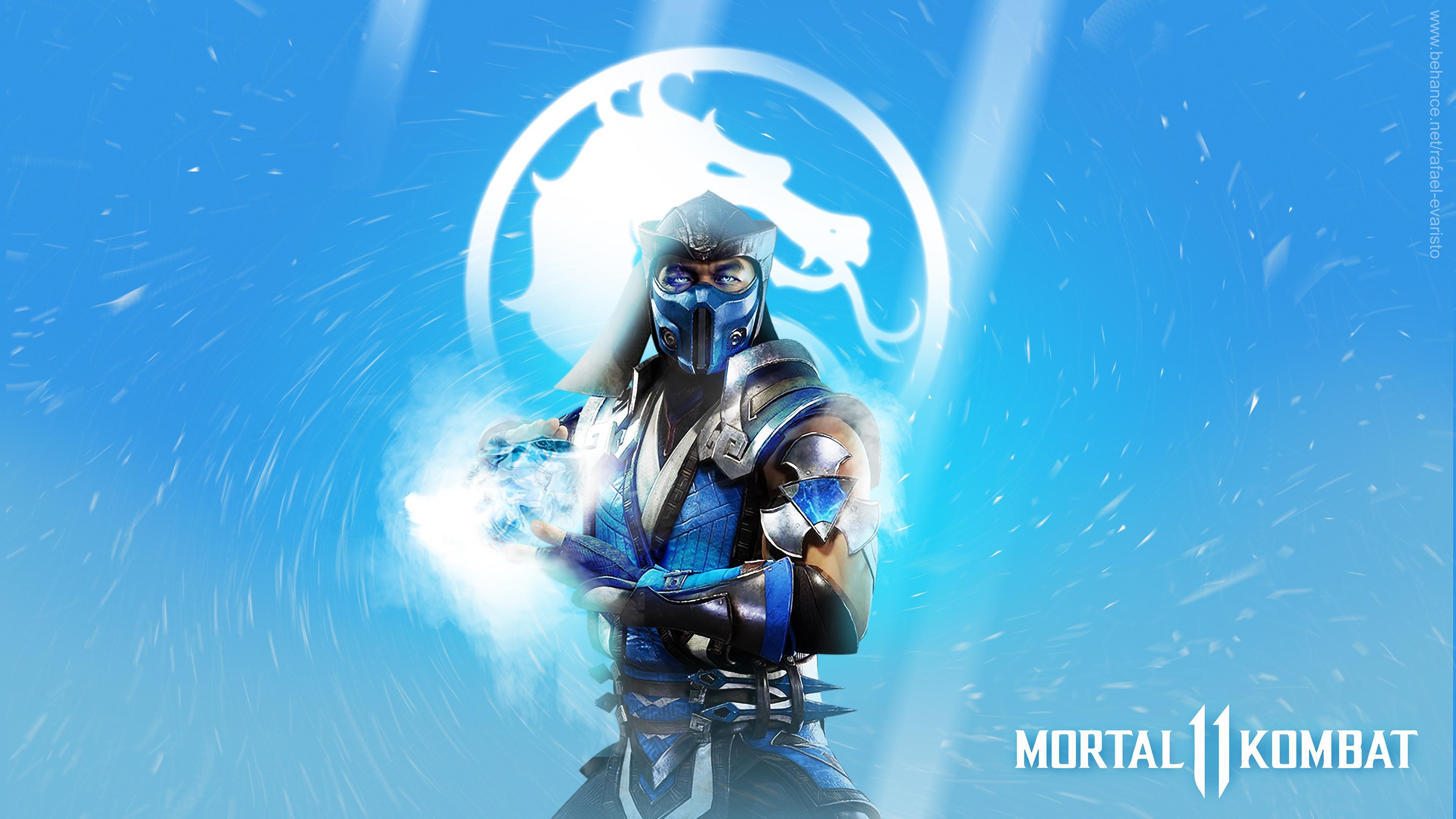 Sub Zero In Mortal Kombat 11 4k Wallpapers Hd Wallpapers