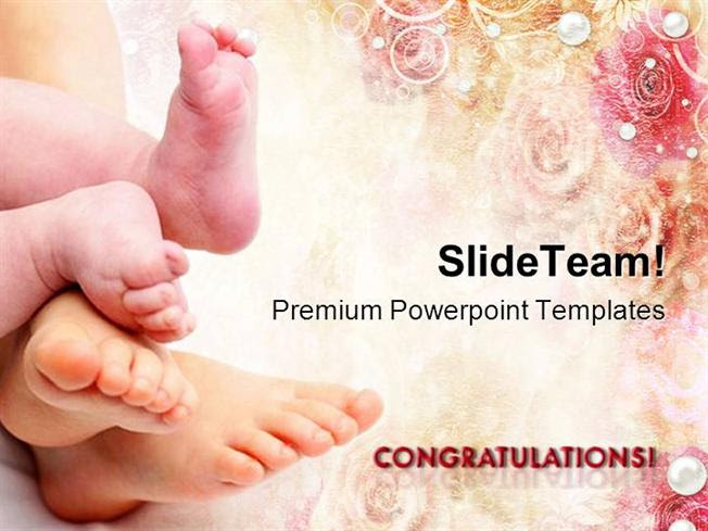 Greetings On New Born Baby Powerpoint Templates And Powerpoint Bac Authorstream