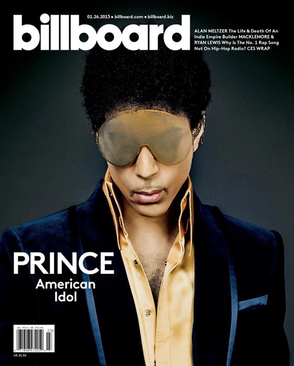 Billboard (1/26/13), Prince