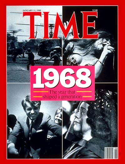 Image result for 1968 time magazine