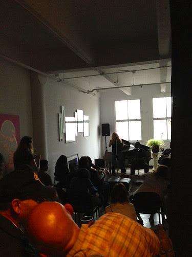 A band at JC Artists' Studio Tour