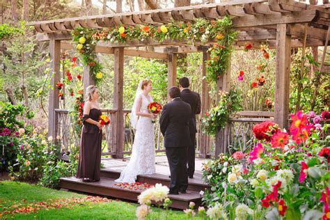 Dahlia Garden Wedding Ceremony   Weddings   MCBG Inc. 2018