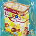 多樂福糖果盒‧壓克力、畫布‧25.5x20cm‧2013
