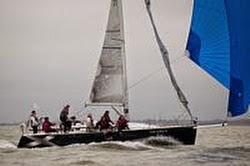 J/109 sailing on Solent
