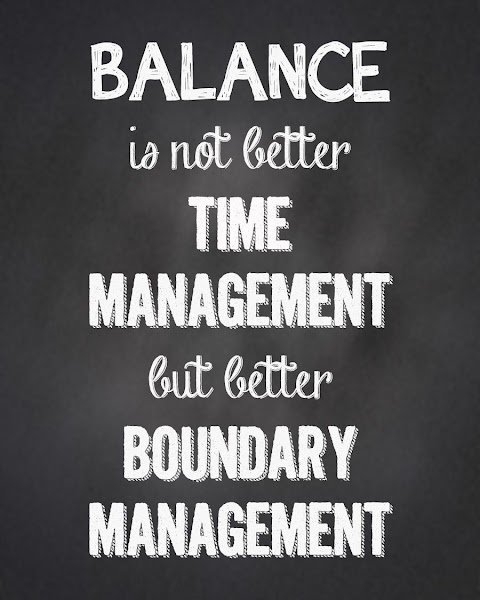 Balance Between Work And Life Quotes
