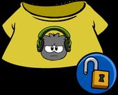 Green Dubstep Puffle Tee clothing icon ID 4932