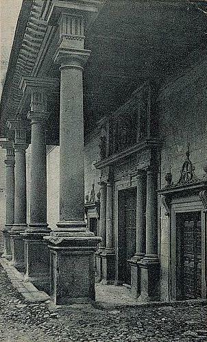 Convento de Santo Domingo el Real (Toledo) a principios del siglo XX. Foto A. González Nieto hacia 1925