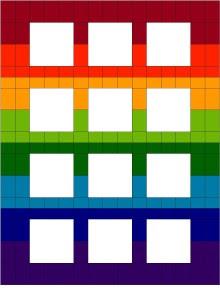 2016Sampler-RainbowScrapsSetting