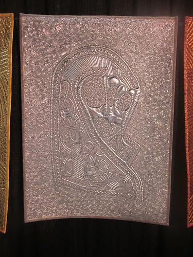 """""""Odin's Trilogy"""" by Linzi Upton, close up of silver"""