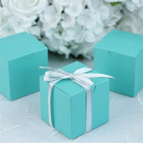 "100 pcs 3""x3""x3"" Wedding FAVOR BOXES Party Baby Shower"