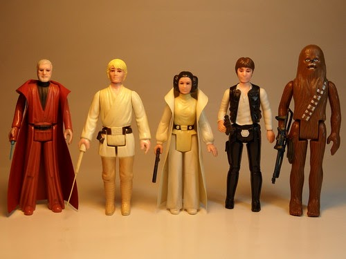 Old Star Wars Toys : I miss my childhood vintage star wars kenner action figures