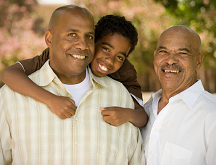 A grandfather, father, and son who all know the importance of hepatitis vaccines -- learn more at vaccines.gov
