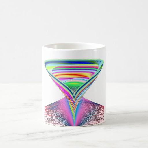 Decapitated Alien's Rainbow Corpse Coffee Mugs