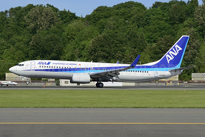 ANA (All Nippon Airways) Boeing 737-881 WL JA76AN (msn 33907) BFI (Steve Bailey). Image: 922825.