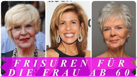 Frisuren Für 60 Jährige Frauen