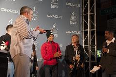 Duke's Choice Awards Ceremony, Taylor Street Cafe, JavaOne 2013 San Francisco