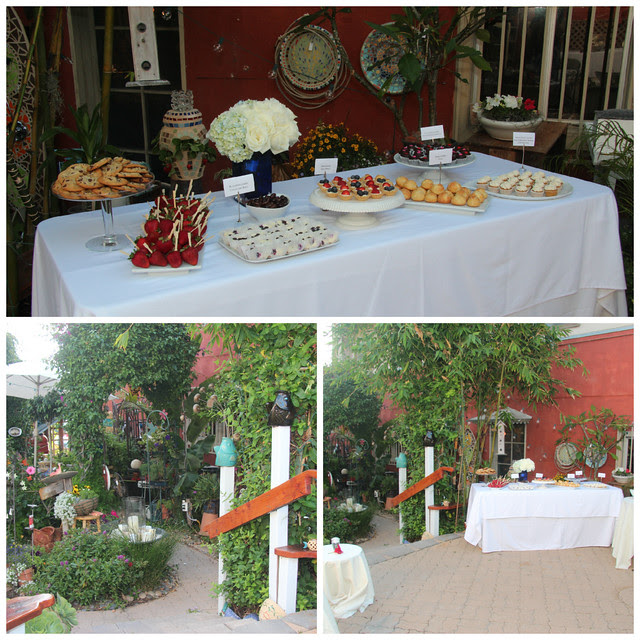 Wedding Dessert Bar Collage #1