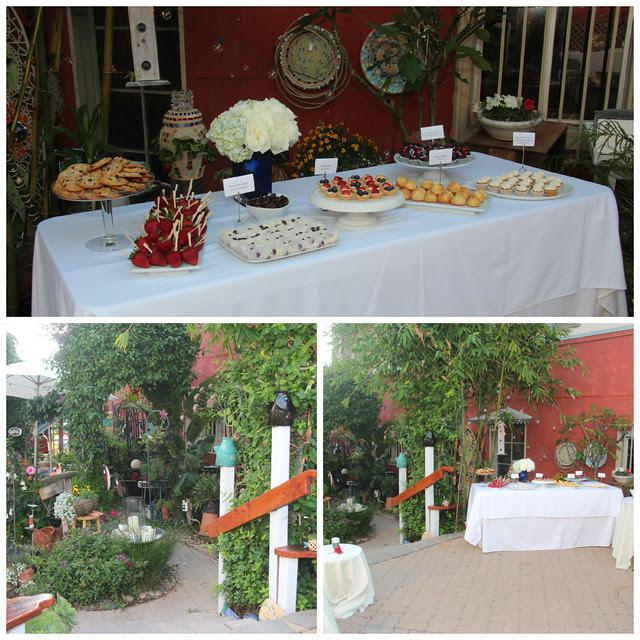 Wedding Dessert Bar Collage #1