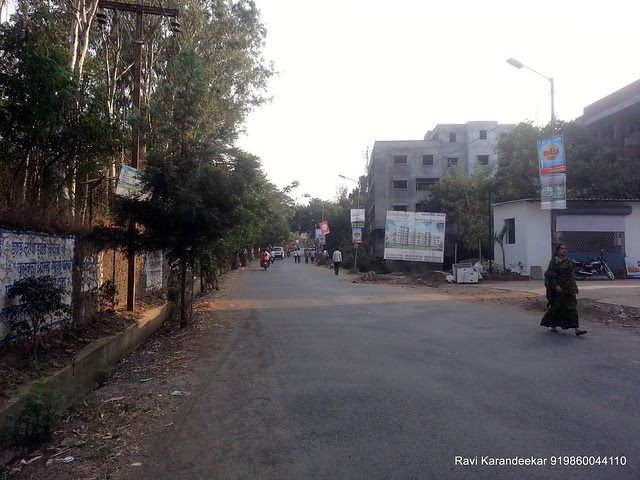 View of Nandoshi Road - Visit Belvalkar Kalpak Homes, 1 BHK & 2 BHK Flats at Kirkatwadi, Sinhagad Road, Pune 411024
