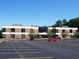 English: GateHouse Media headquarters in Perin...