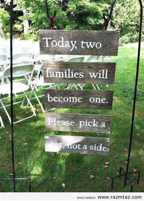 LOVE this sign at a wedding entrance  no awkward moments