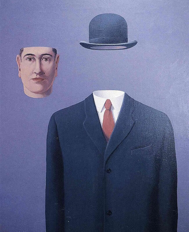 The Pilgrim, 1966 by Rene Magritte