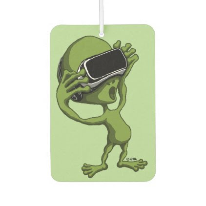 VR Alien Car Air Freshener