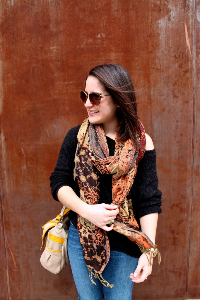 printed-scarf-outfit-idea