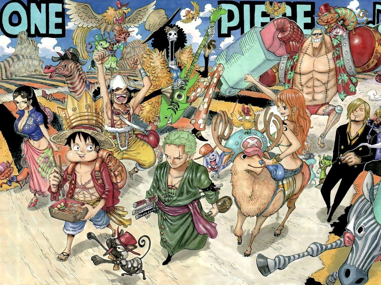 Vocaloid ボーカロイド 壁紙家 ジャンプ系 ワンピース One Piece